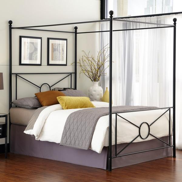 Azuree Queen Canopy Bed