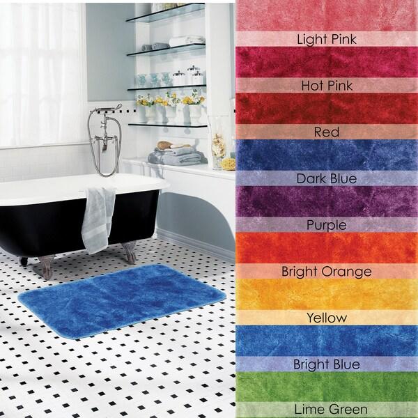 Bright Luster Non-skid 21 x 34 Bath Rug