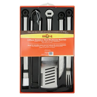 Mr. BBQ 5-piece Stainless Steel Tool Set