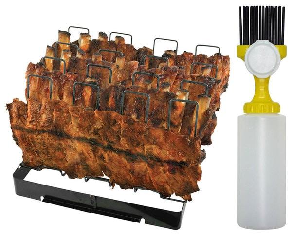 Mr. BBQ Gourmet Rib Grilling Kit