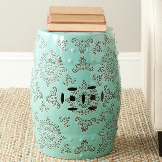 Safavieh Paradise Pacific Light Blue Ceramic Garden Stool