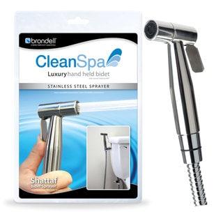 CleanSpa Luxury Stainless Steel Hand Held Shattaf/ Bidet