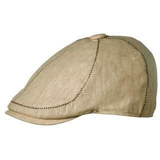 Stetson Men's Natural Linen-Blend Versatile Ivy Hat