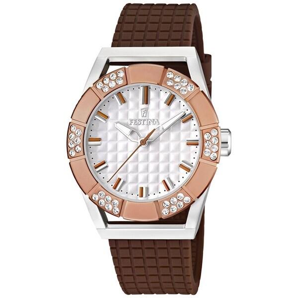 Festina Women's 'Dream' Brown Stainless Steel Watch