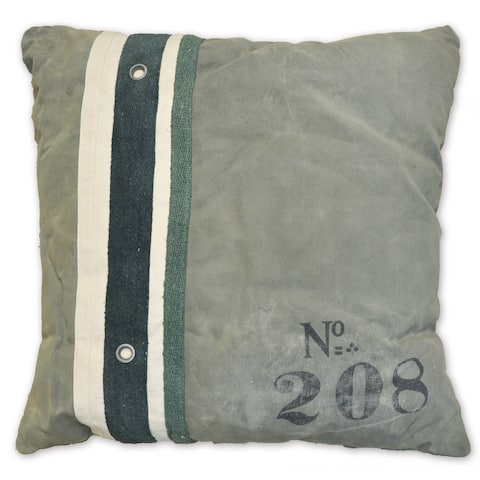 Ryan Recycled Canvas Euro Decorative Throw Pillow