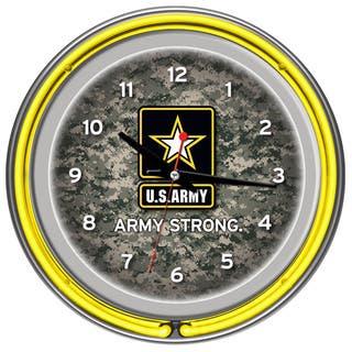 U.S. Army Digital Camo Chrome Double Ring Neon Clock|https://ak1.ostkcdn.com/images/products/7731366/P15132460.jpg?impolicy=medium