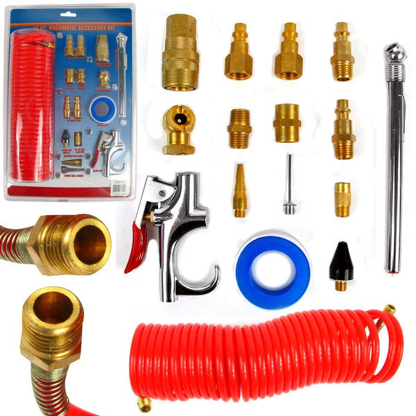 Stalwart 16-piece Pneumatic Accessory Kit