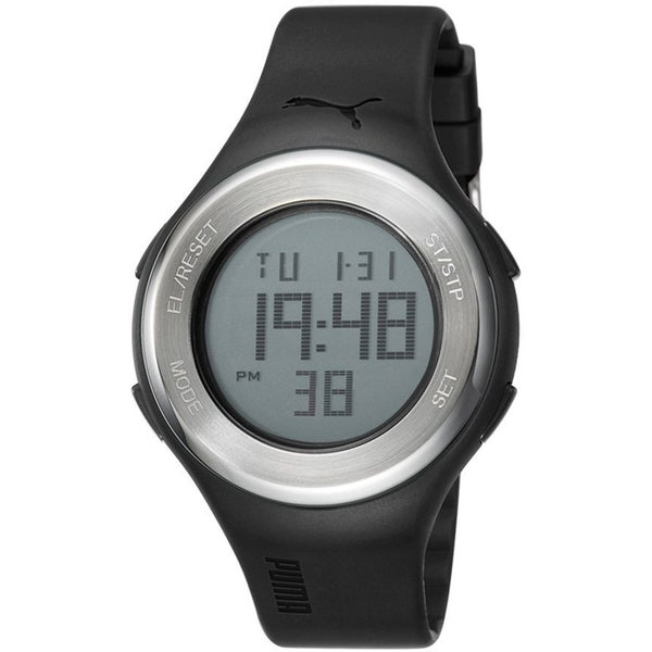 Puma Men's PU910981001 Black Digital Sport Watch