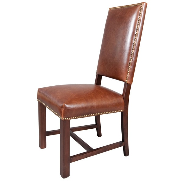 Winston Leather Dining Chairs Set Of 2 Free Shipping