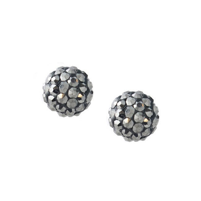 0ce63eb6f Shop Icz Stonez Sterling Silver Crystal Cluster Fireball Stud Earrings - On  Sale - Free Shipping On Orders Over $45 - Overstock - 7731748