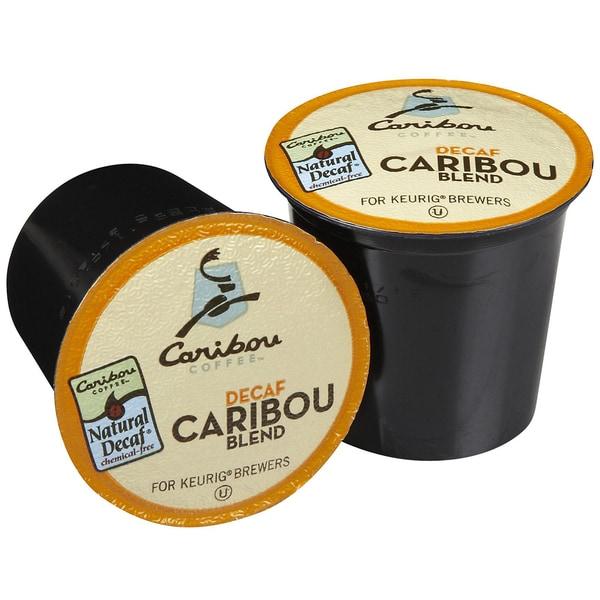 Caribou Coffee Caribou Blend DECAF K-Cups (96 K-Cups)