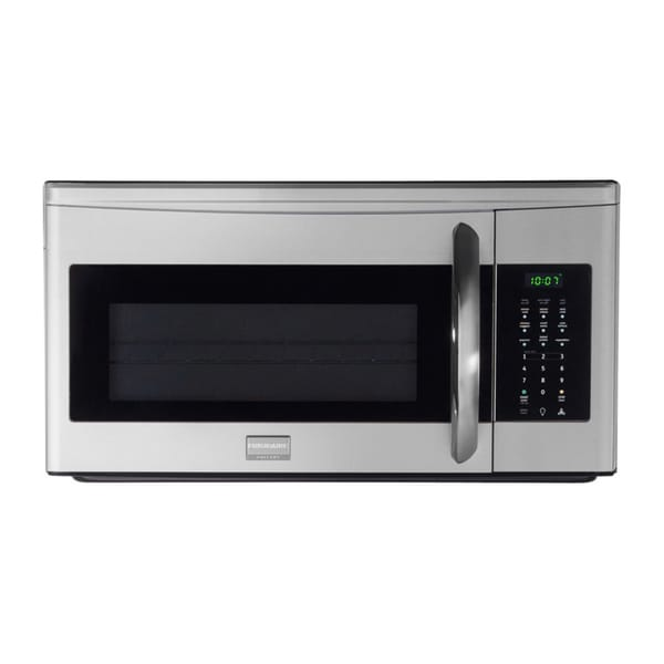 Frigidaire 1.7 Cubic Foot 1000W Gallery Series Over the Range Stainless Steel Microwave