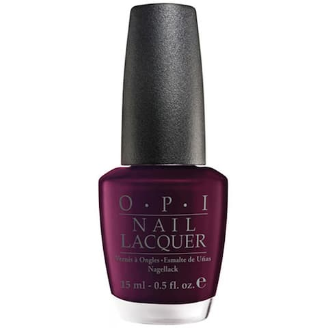 OPI Black Cherry Nail Lacquer