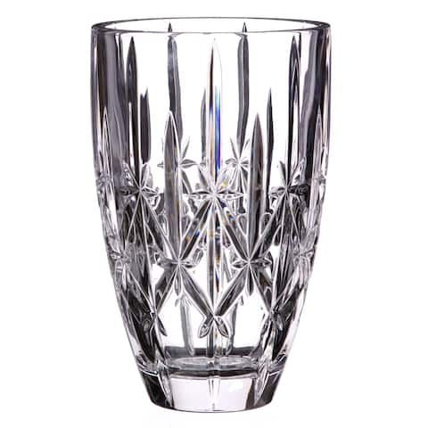 Sparkle Clear 9-inch Vase