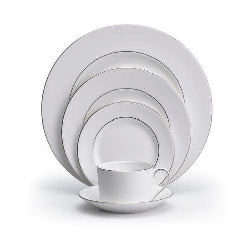 Vera Wang Wedgwood Blanc Sur Blanc 5-piece Dinnerware Place Setting