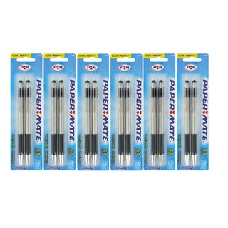 Papermate G-Force Stainless Steel 0.5-mm Mechanical Pencils (Pack of 12)