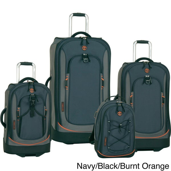 Timberland Claremont 4-piece Luggage Set