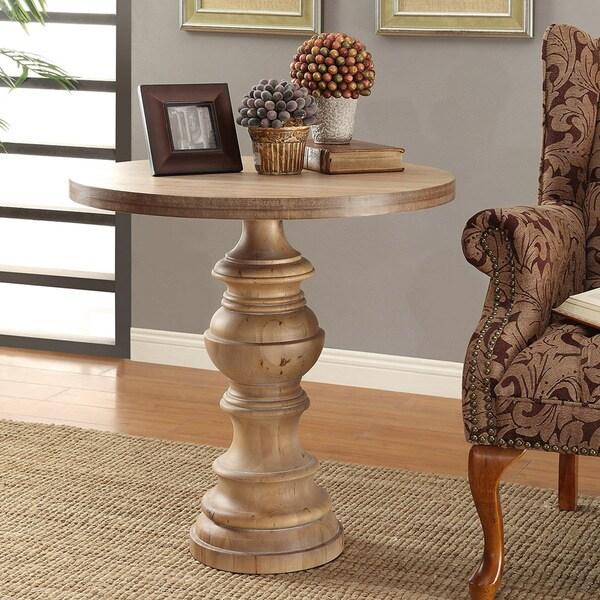 Latte Pedestal Table