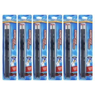 Papermate American Blue Woodcase Checking Pencils (Pack of 12)|https://ak1.ostkcdn.com/images/products/7732139/7732139/Papermate-American-Blue-Woodcase-Checking-Pencils-Pack-of-12-P15132975.jpg?impolicy=medium