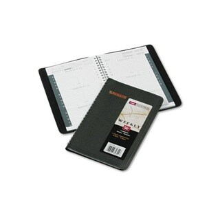 Recycled Weekly Black 2015 Appointment Book