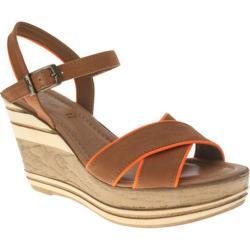 Women's Azura Impulse Brown/Orange Leather