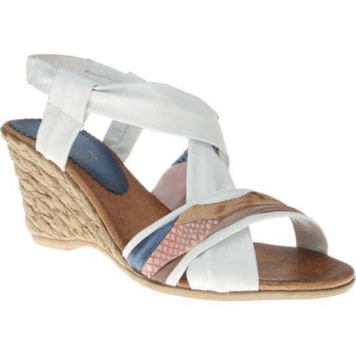 Women's Azura Velda White Multi Leather