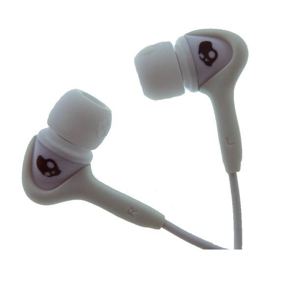 Skullcandy Smokin' Buds White w/ Mic Earbuds