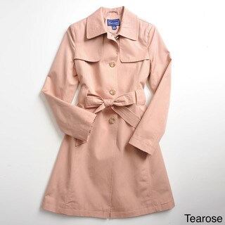 Cotton Rothschild Girls Breathable Trench Coat