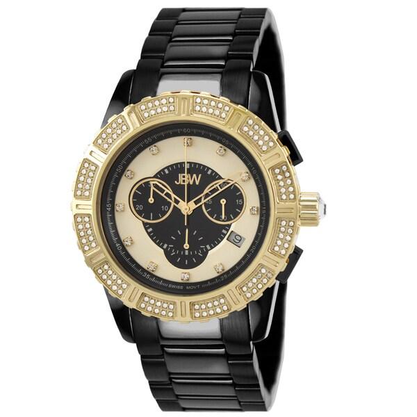 JBW Women's 'Chardonnay' Two-Tone Diamond-Accented Watch