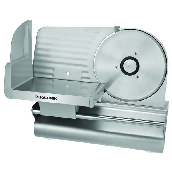 Kalorik Stainless Steel Meat Slicer (Refurbished)
