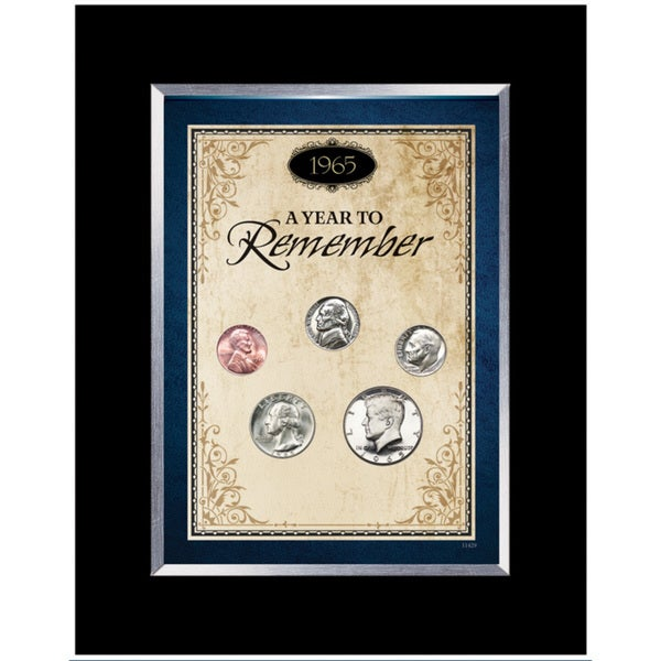 American Coin Treasures Year To Remember 1934-1964 Coin Desk Frame