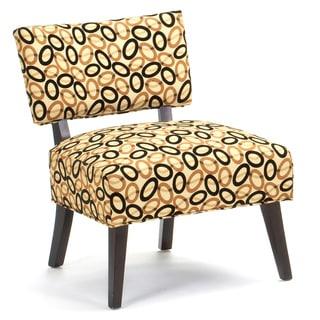 Cardinal Ebony Accent Chair