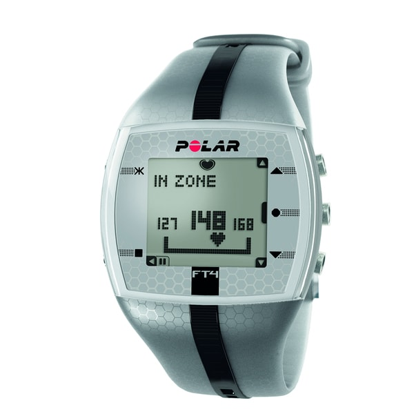 Polar FT4 Silver/Black Heart Monitor