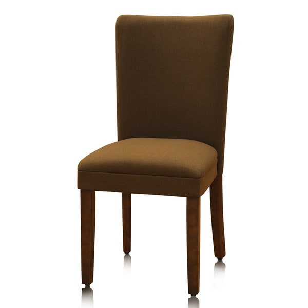 Class Brown Parson Chairs (Set of 2)