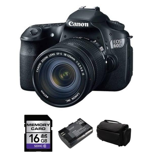 CANON EOS 60D Pro Digital SLR Camera with 18-135mm Bundle