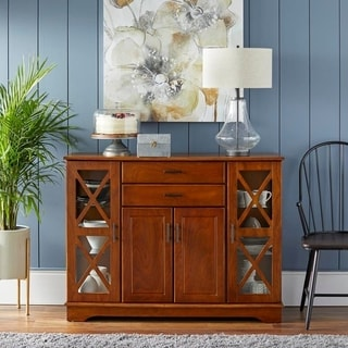 Dining room furniture buffet Wood Simple Living Kendall Buffet Overstock Buy Buffets Sideboards China Cabinets Online At Overstockcom