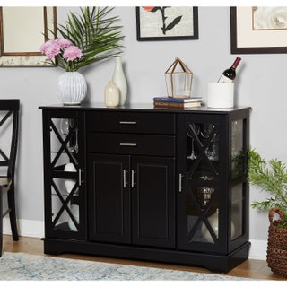 Simple Living Kendall Buffet (Option: Black)