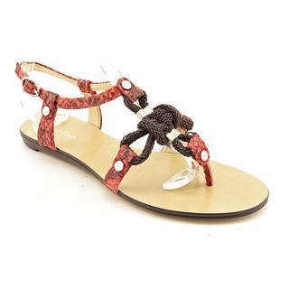 Calvin Klein Women's 'Sarra' Animal Print Sandals
