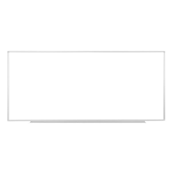 Wall-mounted 96 x 40-inch Whiteboard