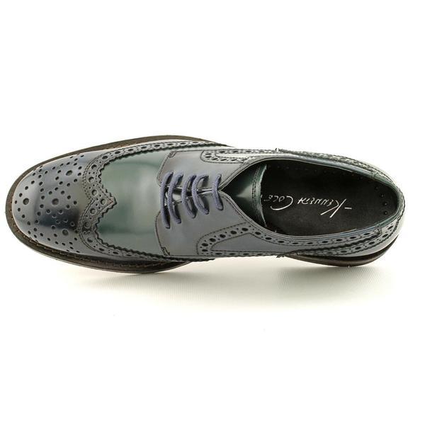 Kenneth Cole New York Mens Mind Tricks Wingtip Oxford Shoe