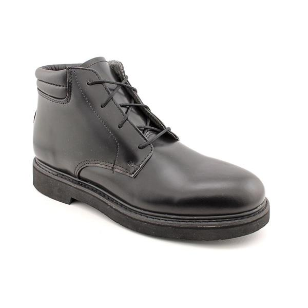 Rocky Men's 'FQ00501-8' Leather Boots - Wide (Size 10.5)