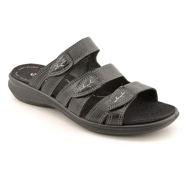 cfb31681dd2497 Shop Ecco Women s  Breeze  Leather Sandals - Free Shipping Today ...
