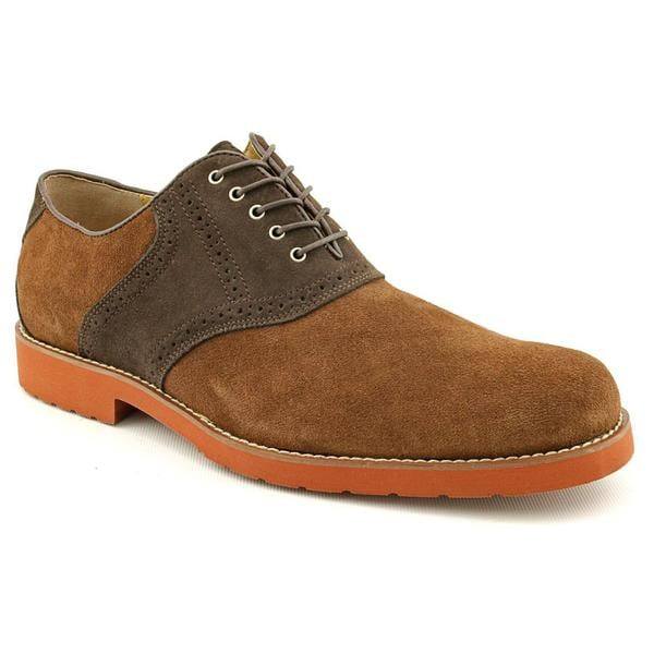 Hush Puppies Men's 'VClass Oxford_SD' Regular Suede Dress Shoes (Size 11)