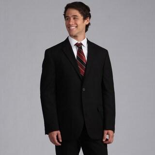 Geoffrey Beene Black Solid Suit Separate Coat