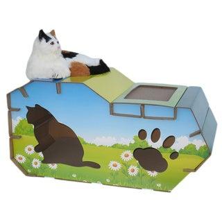 Go Pet Club House Style Cat Scratch Board