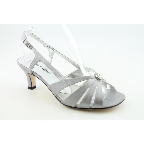 David Tate Women's 'Rosette' Satin Dress Shoes - Narrow