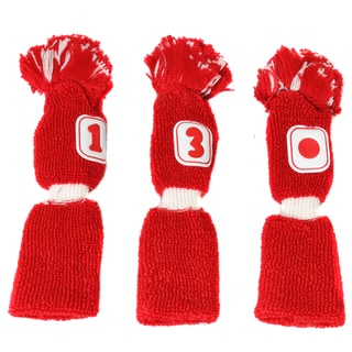 Pro Source Golf Club Knit Headcovers (Set of 3) Fits Small Sized Clubs
