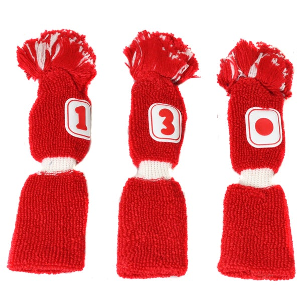 Pro Source Golf Club Knit Headcovers (Set of 3)