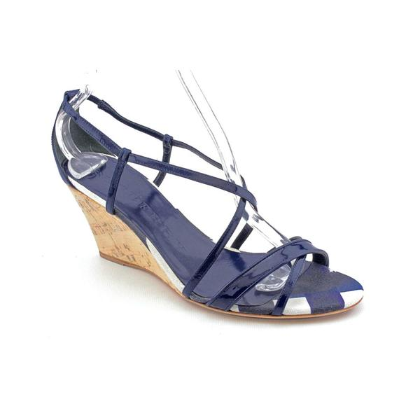 Burberry Women's '3753626' Patent Leather Sandals (Size 8)
