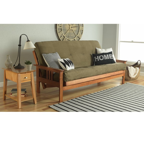 Clay Alder Home Kern Full Size Futon Frame And Mattress Set